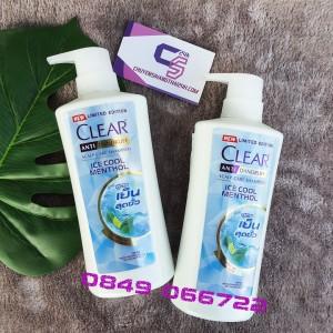 DẦU GỘI CLEAR BẠC HÀ THÁI LAN