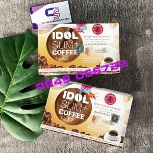 CAFE GIẢM CÂN IDOL SLIM + COFFEE X2 THÁI LAN [HÀNG CHÍNH HÃNG]